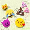 100% 2600 мАч 2016 Новый Дизайн Смешно Мило Emoji Лица Формы Power Bank ПВХ Материал Зарядки Мобильных Мультфильм Для смарт-телефоны