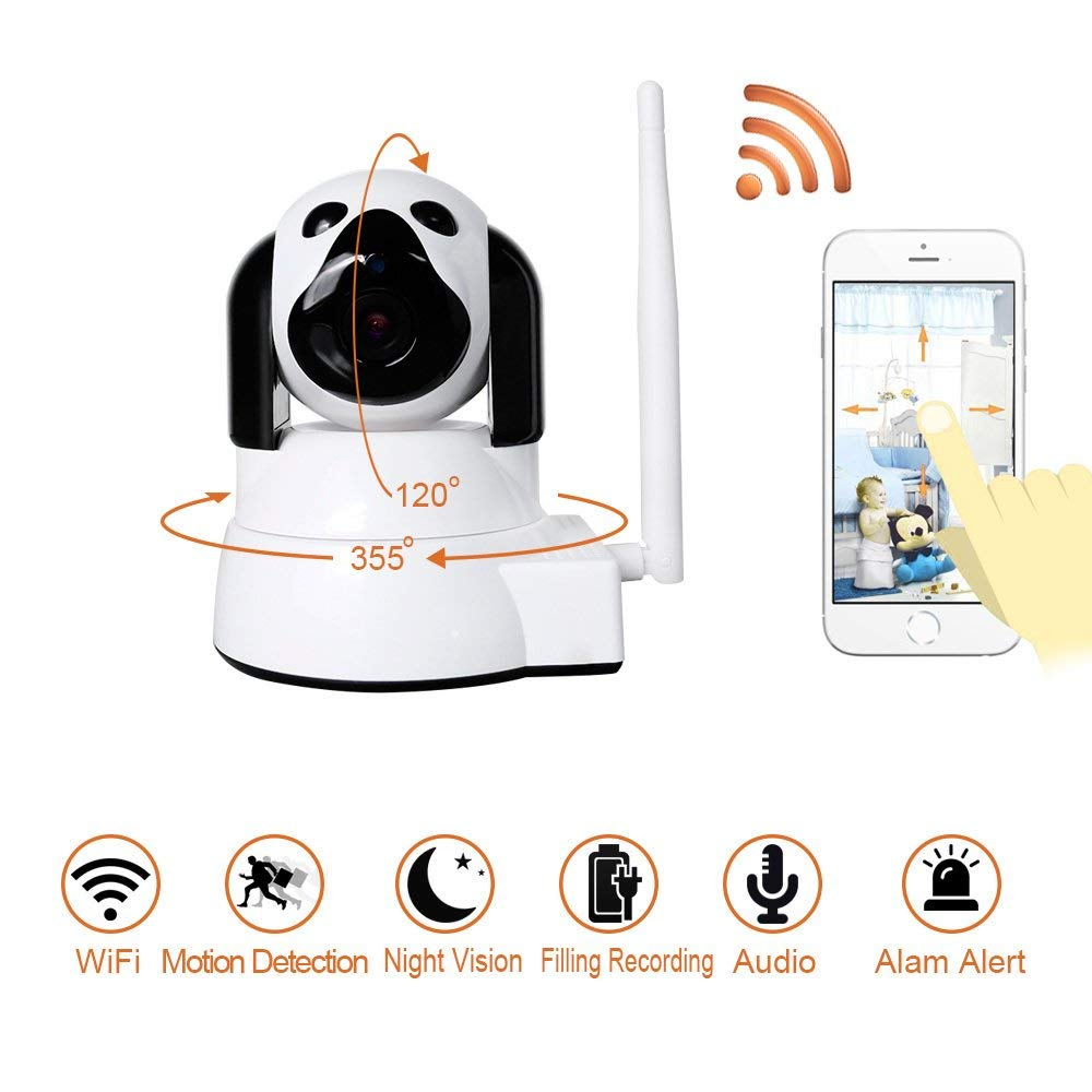 YYZ100SS SNB Network Camera Little Dog Baby Mornitor HD Home Security Wifi Wireless Smart Phone Remote Monitoring Machine