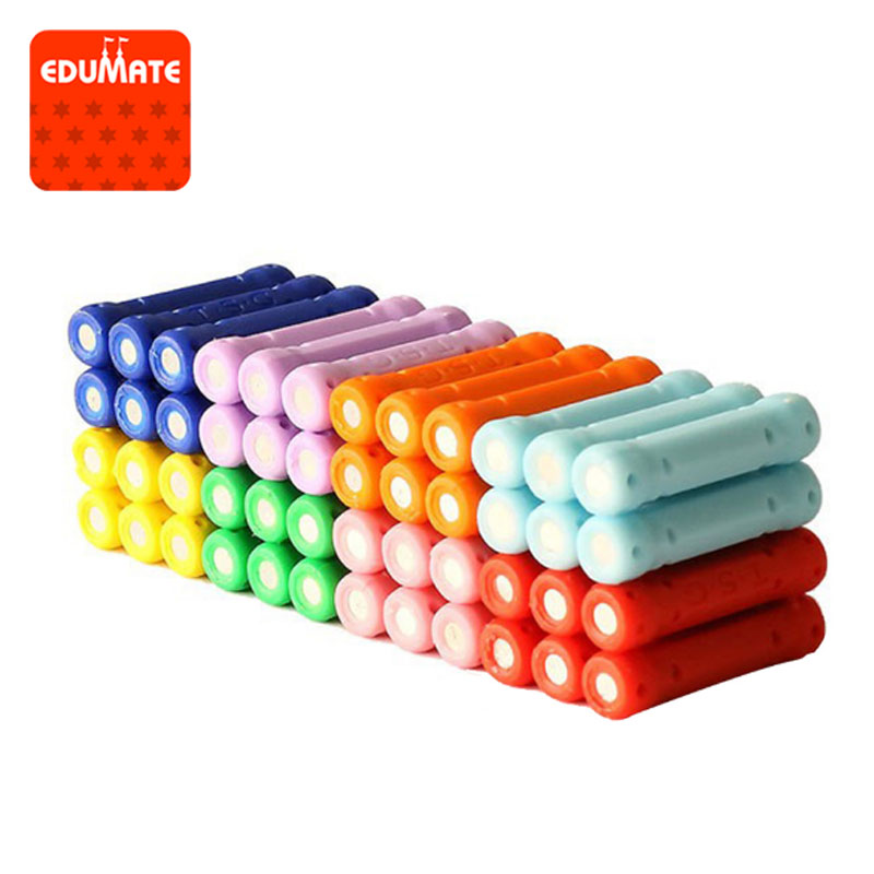 50/100/200pcs Educational Magnetic Stick Toy For Kids Magnet Building Blocks Toys Accessories Designer Magnetic Construction Toy susengo magnetic toy building enlighten block designer 358pcs magnet bars