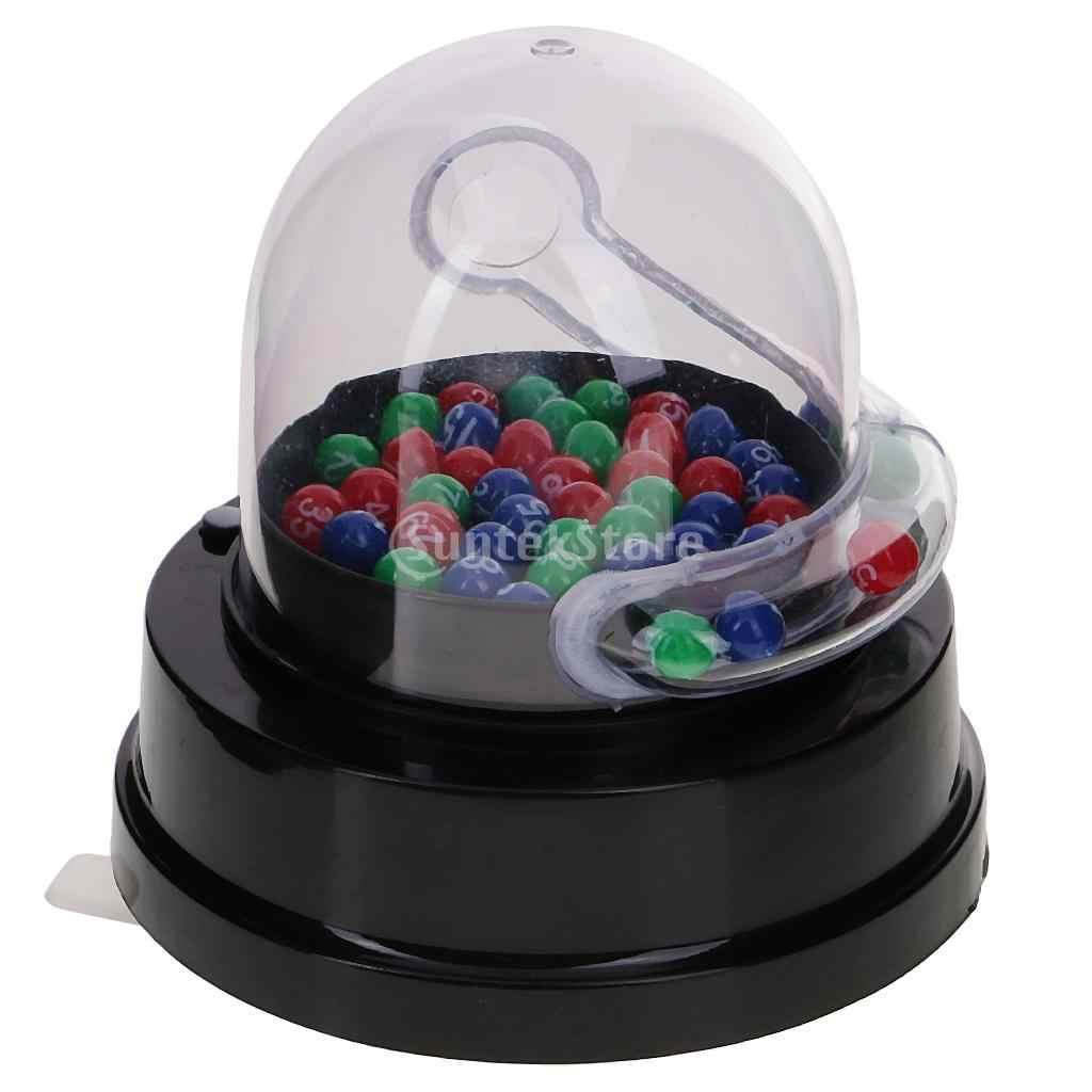 Elektrische Glück Anzahl Picking Maschine Hochwertige Mini Elektrische Glück Anzahl Picking Maschine für Lotterie Bingo Spiele