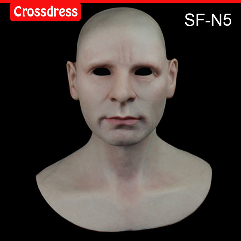 SF-N5 silicone true people mask costume mask human face mask silicone dropshipping sf 7 silicone true people mask costume mask human face mask silicone dropshipping