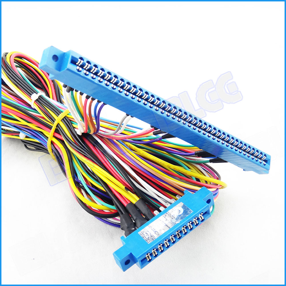 hight resolution of aliexpress com buy 1pcs 10pin 36pin jamma harness wire for arcade game red