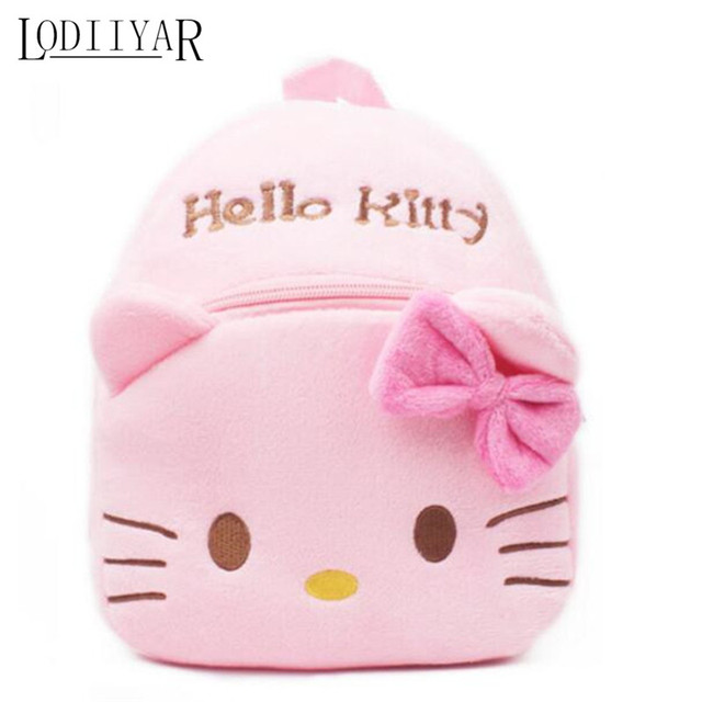 Olá Kitty Mochila De Pelúcia Bebê Mochila Menina Curta Kawaii Brinquedos Para Crianças Crianças Brinquedos Brinquedos Dos Desenhos Animados Anime Mochila