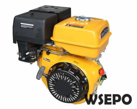 Factory Direct Supply WSE-182F(GX340) 10HP 340CC Air Cool 4 Stroke Gasoline Engine,used for Gokart/Water Pump/Genset/Road Cutter factory direct supply inlet 2 5 in outlet 2 in cast iron centrifugal water pump powered by wse 152f 2 5hp gasline engine