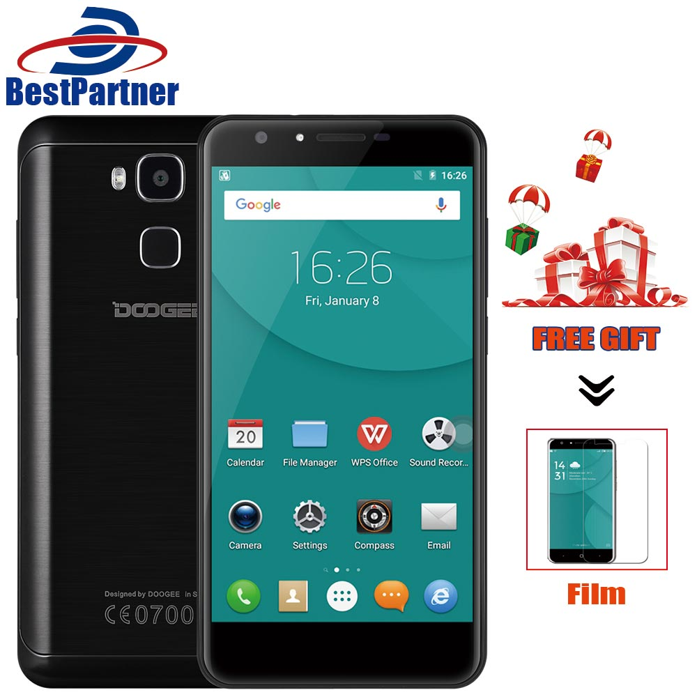 Original Doogee Y6C Mobile Phone 5 5 Inch MTK6737 Quad Core Android 6 0 Cell Phone