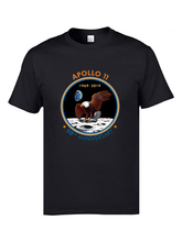 SpaceX Apollo T-Shirt Occupy Mars Eagle Summer Autumn Tops Tees Cotton Slim Fit T-shirts Wholesale Custom Team Tee Shirts