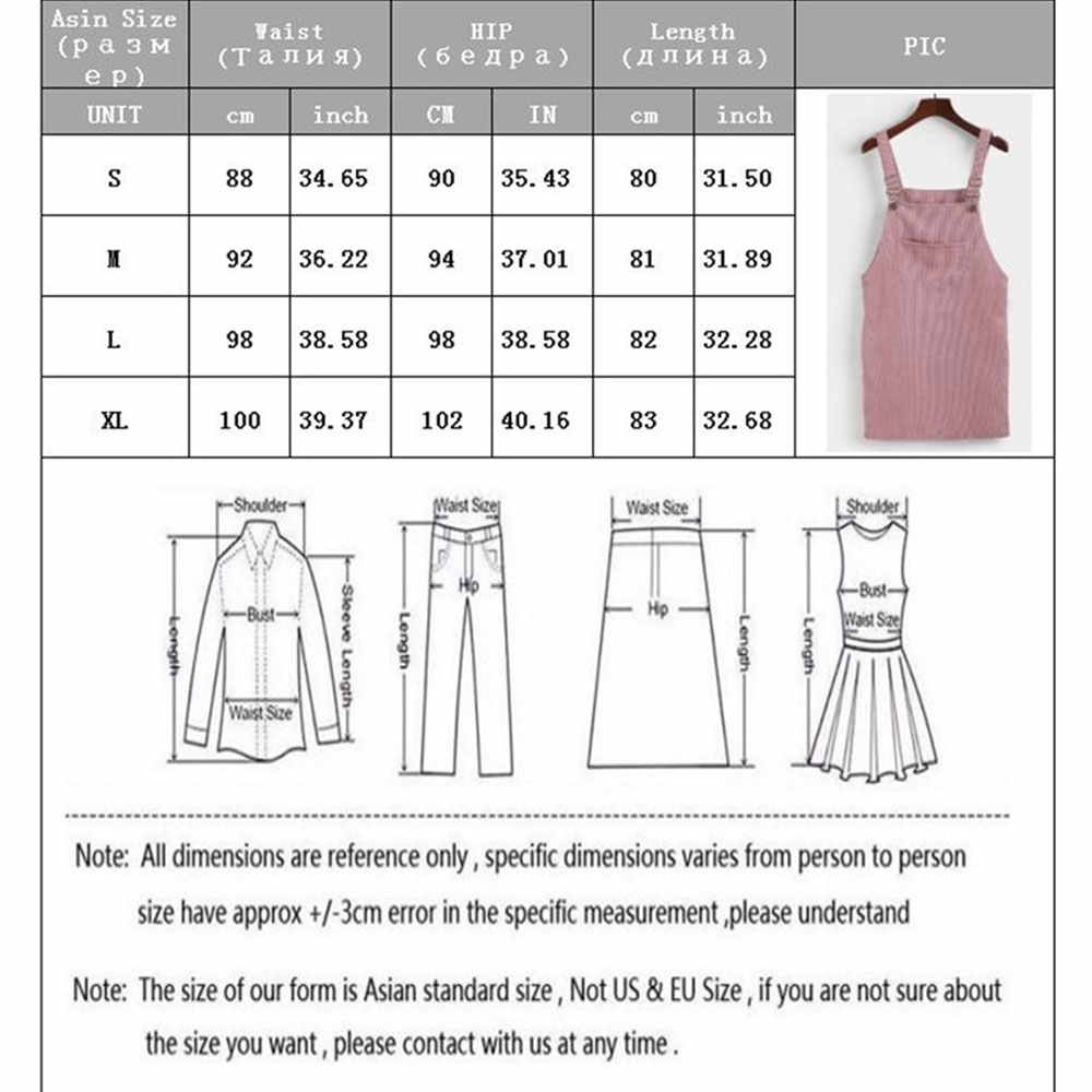 Musim semi Musim Gugur 2020 Wanita Retro Corduroy Dress Korea Tanpa Lengan Gaun Mini Kasual Vintage Gaun Longgar Rompi Dress