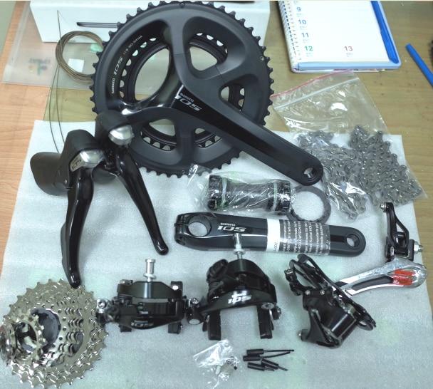 Shimano 5800 105 groupsets Road Bike Groupset 170 172 5 50 34 53 39 font