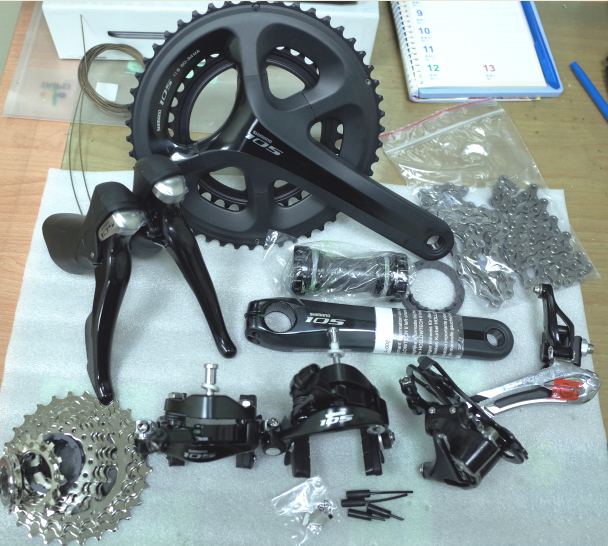 Shimano 5800 105 groupsets Road Bike Groupset 170/172.5 50-34 53-39 Bicycle Group Set 2*11 speed,5810 direct mount is available west biking bike chain wheel 39 53t bicycle crank 170 175mm fit speed 9 mtb road bike cycling bicycle crank