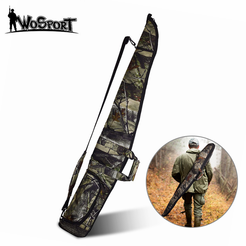 Tactical 130cm Camo Gun Case Gun Bag Airsoft Rifle Shotgun Holster With Soft Padding Outdoor Military Hunting Gun Carrying Bag