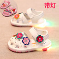Light Summer Children Sandals Shoes Baby Girls Toddler Soft Bottom Princess Baby Shoes Children Shoes