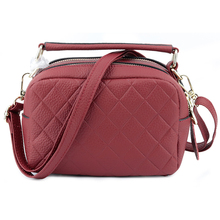 Luxury Handbags Women Bags Designer 100% Genuine Leather Double Compartment Handbag Brand Large Capacity Messenger