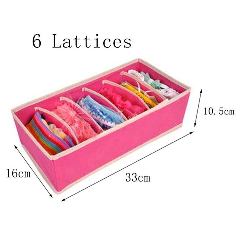 4 PC Drawer Organizers Multi-function Storage Box Clothing Underwear Bra Organizer Convenient Closet