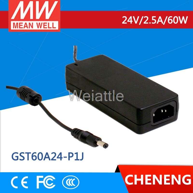 Desktop Industrial Adapter 120W 24V 5A GST120A24-P1M Meanwell AC-DC SMPS GST120A MEAN WELL Switching Power Supply