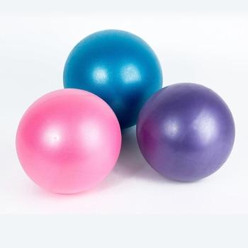 25cm Yoga Ball Exercise Gymnastic Fitness Pilates Ball Balance Exercise Gym Fitness Yoga Core Ball Indoor Training Yoga Ball