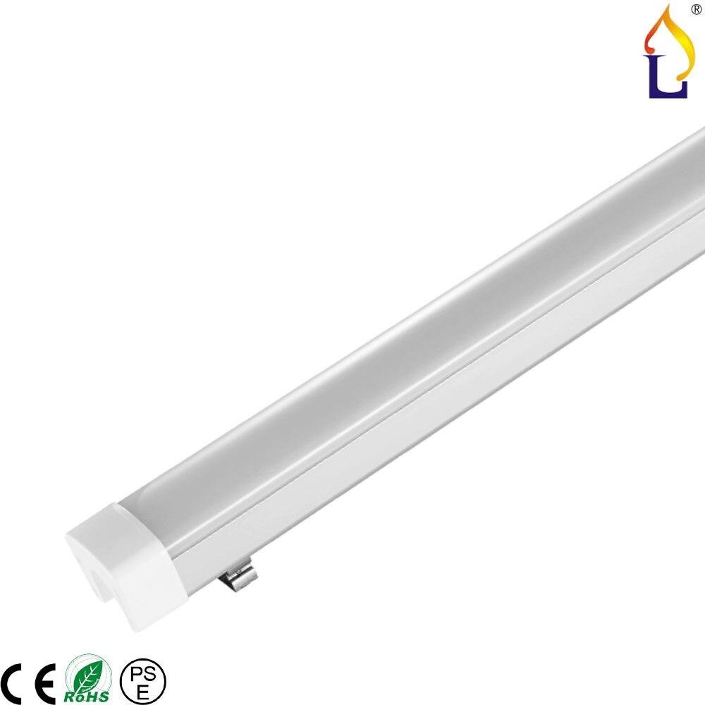 6 Pack Led Tri-preuve lumière 2FT 600mm 3FT 900mm 30 W 40 W lampe extérieure haute luminosité remplacer la lumière fluorescente AC100-277V