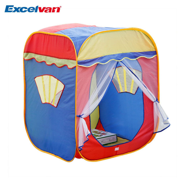 Excelvan kids Toddlers Pop-up Play Tent Portable Folding Square Children Game Play Tent With  sc 1 st  AliExpress.com & Excelvan kids Toddlers Pop up Play Tent Portable Folding Square ...