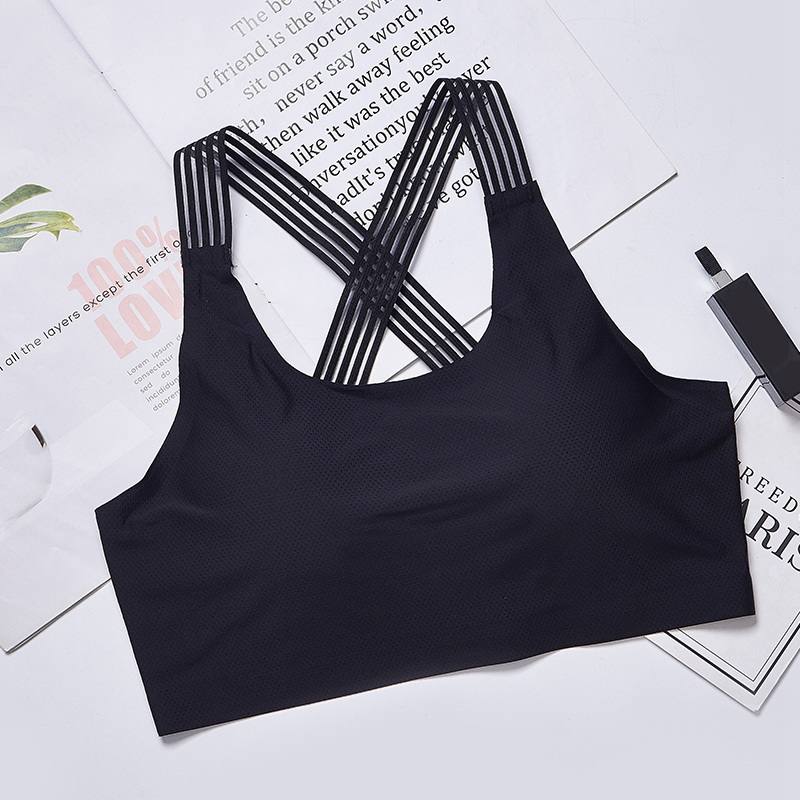 Strap Sports Sleep Tube Top Bras For Women Fashion Beauty Back Crossless Soutien Gorge Femme With Chest Pad Gather Bottoming
