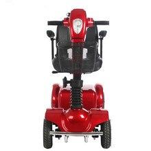 Citycoco четыре колеса электрический скутер для инвалидов скутер, способный преодолевать Броды для старика инвалидов