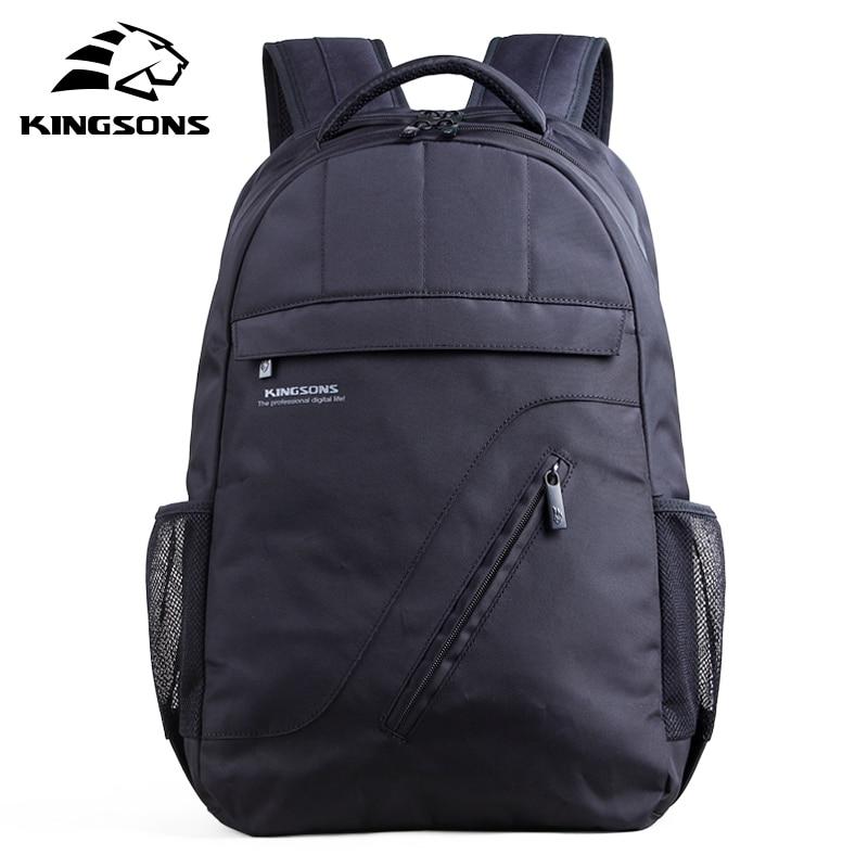 Kingsons Brand Laptop Backpack Black Men Bagpack Women Classic Mochila Bag Boy s Rucksack School Bags