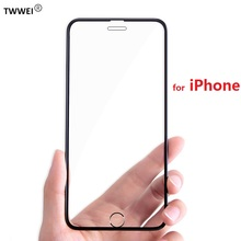 Full Cover Glass Screen Protector for iPhone 8 7 Plus Tempered Glass on iPhone X XS Max XR 8 7 6 6s Plus Glass Film Foil