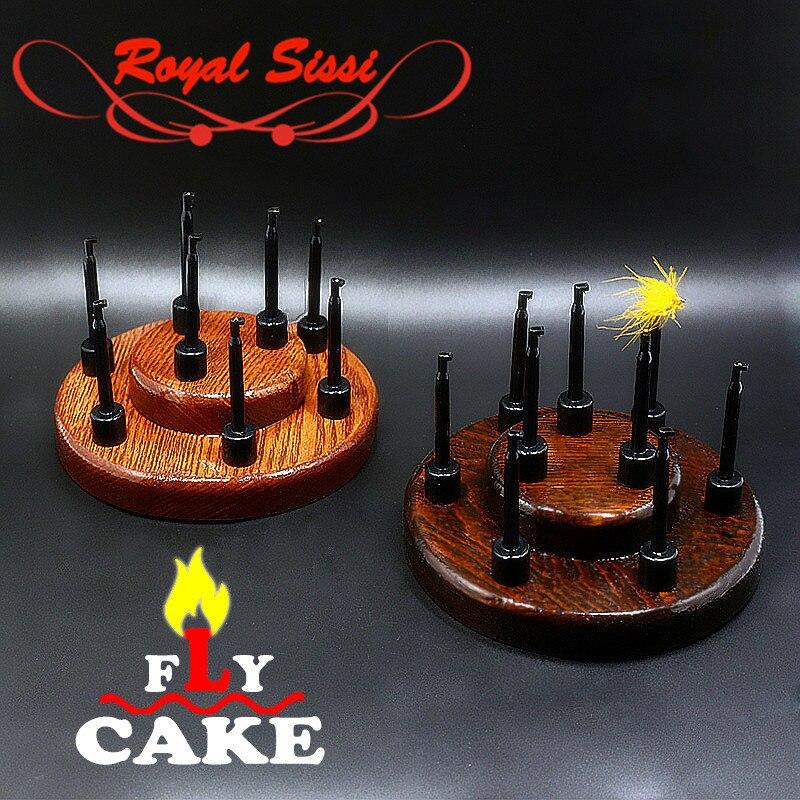 Jaunas 1set koka koka lidojošas kūka, kas sasietas ar amatniecības mēbelēm, kas paredzētas 9flies lidojuma sasaistes logrīku glabāšanas rīka ashtree masīvkoka pamatnes turēšanai