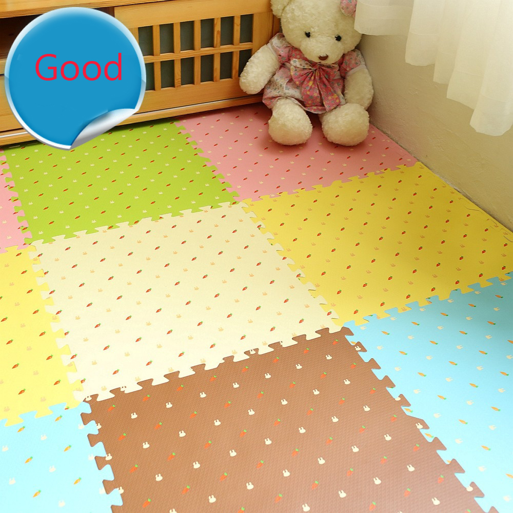 16pcs Play Kids rug Games AYA BRAND Floor Room Carpet Indoor Decor sport Mat Cartoon Pattern Gift Puzzle kids babys gifts sand shell starfish pattern floor area rug