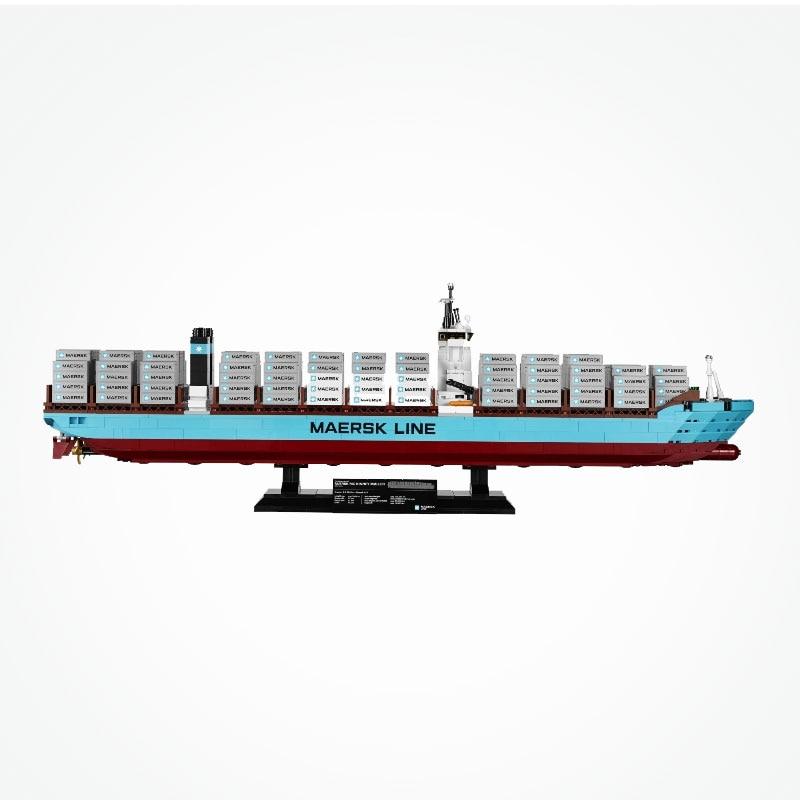 US $85 0 30% OFF|Blocks Legoing Creator Maersk Line Triple E World's  Largest Boat Ship Blocks Toys for Children Legoings City Creators-in Blocks  from