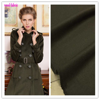 Good 150 100cm 1pc Green Wool Fabric Coat Fabric Sewing Material For DIY Man Women Fashion