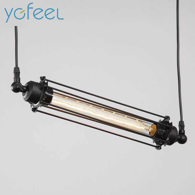 [YGFEEL] Pendant Lights American Country Industry Retro Style Coffee Restaurant Bar Loft Pendant Lamps E27 Holder AC110V/220V
