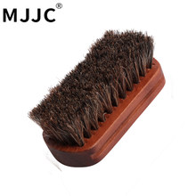 MJJC Wooden Handle Car Brushes For Interior Detailing Interior Leather Brush(China)