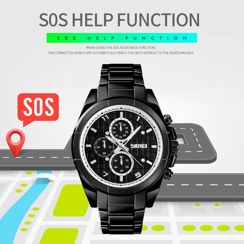 SKMEI  Brand Men Watch smart Luxury APP Remind Electronic Bracelet Fashion Calorie Sport Wrist Watch Men Smartwatch Android IOS