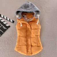 Plus Size 8 Colors Fashion Autumn Winter Coat Women Ladies Gilet Colete Feminino Casual Waistcoat Female