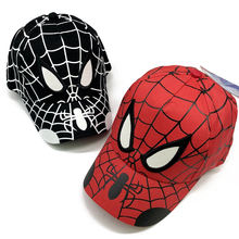 Новинка года; шапка для маленьких мальчиков и девочек; бейсбольная кепка с вышитым рисунком Человека-паука; хлопковая Детская кепка в стиле хип-хоп для мальчиков и девочек; Детская кепка; Snapback