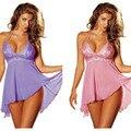 Más el Tamaño M-5XL Mujeres de la Señora de Encaje Babydoll Lencería Ropa Interior ropa de Dormir Ropa de Dormir