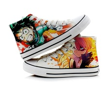 My Hero Academia Cosplay Casual Canvas Shoes