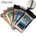 """320 шт./лот для iPhone 6 чехол 100% герметичный водонепроницаемый водонепроницаемость сумка подводный для Apple , iPhone универсальный 5.8 """" телефон чехол"""
