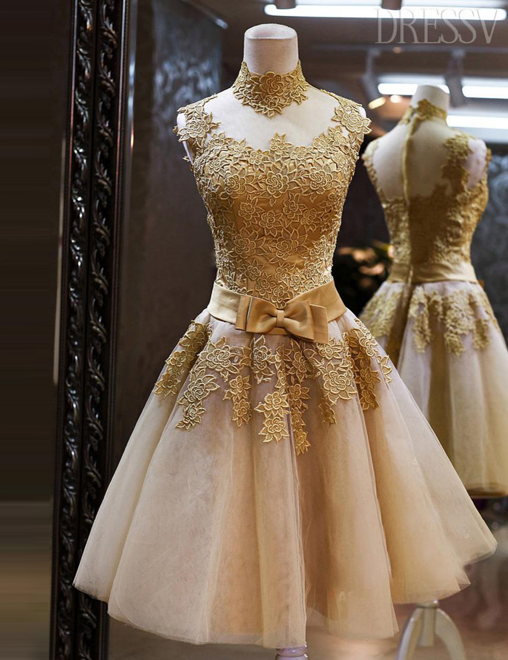 f9bb4c2d69 Champagne Short Homecoming Dresses With Sashes Lace Appliques Cute 8th  Grade Graduation Dresses Vestido de formatura curto S1508-in Homecoming  Dresses from ...