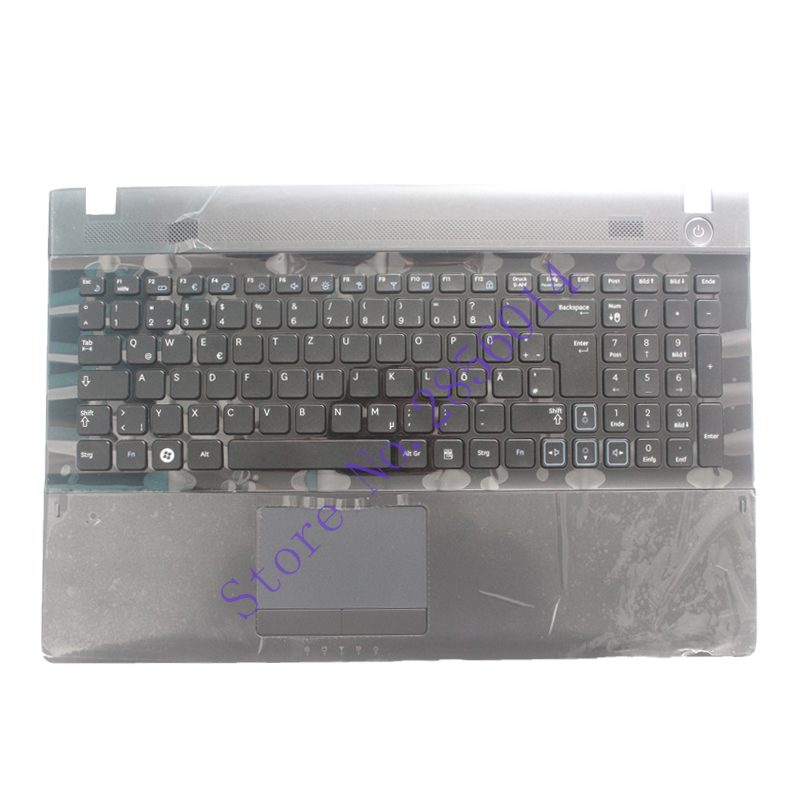 NEW german  keyboard For Samsung RV509 RV511 NP-RV511 RV513 RV515 RV518 RV520 NP-RV520 GR black Laptop Keyboard new gr laptop keyboard with frame for samsung 355v5c 350v5c 355 v5x german keyboard