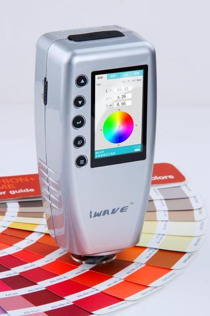 Précis Numérique Colorimètre Wr10 8Mm Couleur Différence Testeur