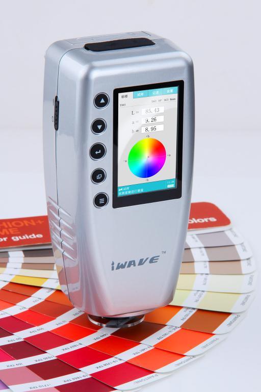 Colorimetro digitale preciso WR10 Tester del misuratore di differenza di colore da 8 mm Tester del colore Lettore di colori