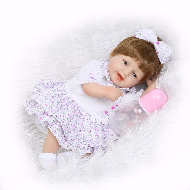 baby doll toys lifelike newborn smile princess