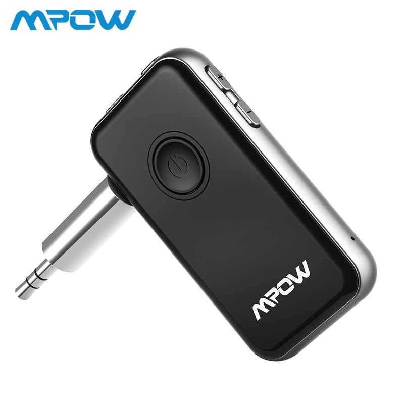 Mpow BH045 2-in-1 Bluetooth 4.1 Transmitter & Receiver Wireless Adapter For Headphones Speaker TV Computer Car Stereos MP3 MP4 цена 2017