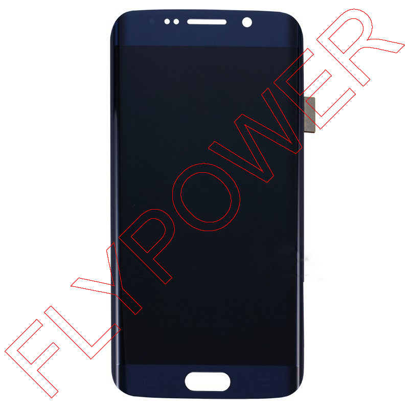 LCD Screen For Samsung Galaxy S6 Edge G925A G925T G952F LCD Digitizer Touch Assembly Blue/White/Gold
