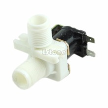 Ootdty J34 Бесплатная доставка 220 В AC Электрический Электромагнитный Клапан Магнитная n/c воды впуска воздуха коммутатором потока 1/2″