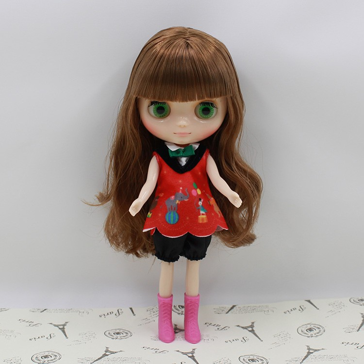 Middie Blythe Doll Multi-Color Hair 20cm 12
