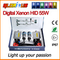 xenon HID kit Slim ballast  F5 55W 0.1 second Fast bright ballast D2S D2C 4300K 5000K 6000K 8000K SUPER WHITE ,HID XENON KIT