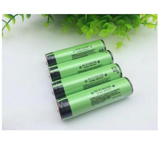 4PCS 100% Original Made In Japan NCR 18650B 3400mAh Battery 3.7V Li-ion Rechargeable Battery PCB Protected + Free Shopping