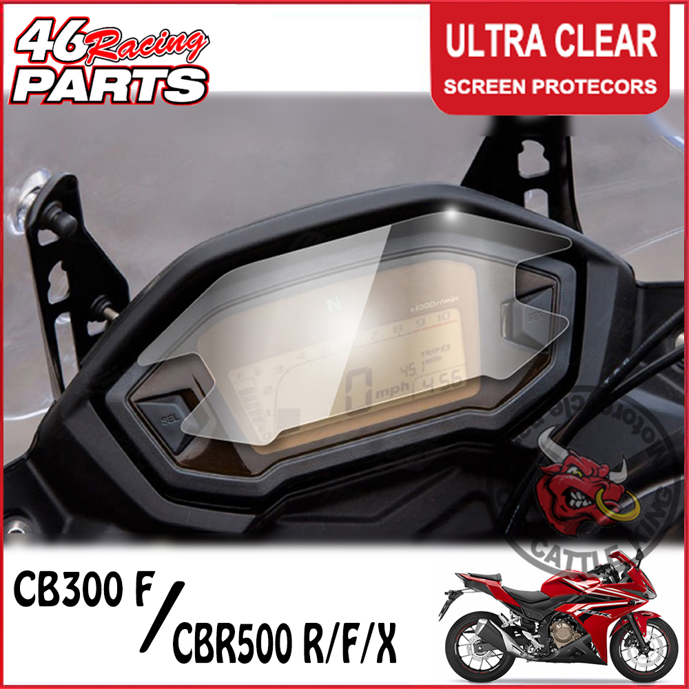 CK CATTLE KING Cluster Scratch Cluster Screen Protection Film Protector For HONDA CB300F/CB 300 CBR500R/CBR 500R 500F 500X R/F/X motorcycle brakes for honda cbr 250r 300r 500r cbr250r cbr300 r cb300 f cb300 fa cbr500r cb 500f cb 500x cnc brake clutch lever