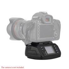 אוטומטי חצובה Ballhead AD 10 פנורמי ראש אלקטרוני מצלמה 360 תואר חצובה ראשי עבור Canon/ניקון/סוני/Pentax מצלמה